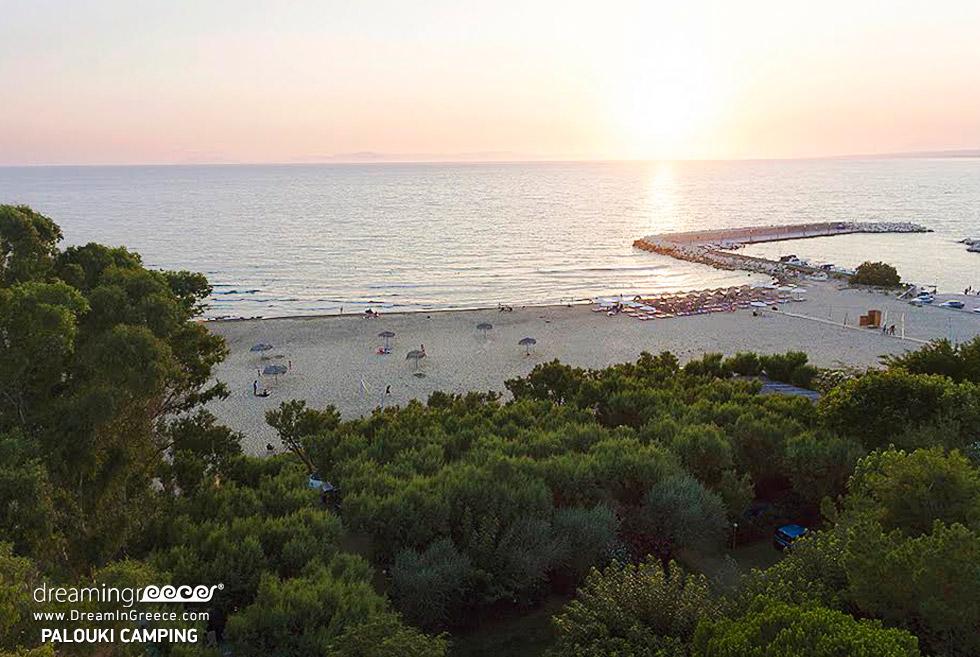 Camping Peloponnese. Camping Palouki Amaliada Greece