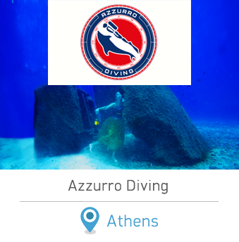 Azzurro Diving Center. Diving in Athens Greece.
