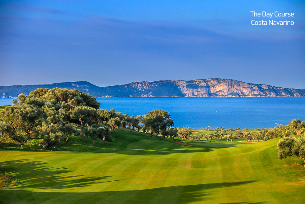 Costa Navarino. The bay golf course. Holidays in Greece.