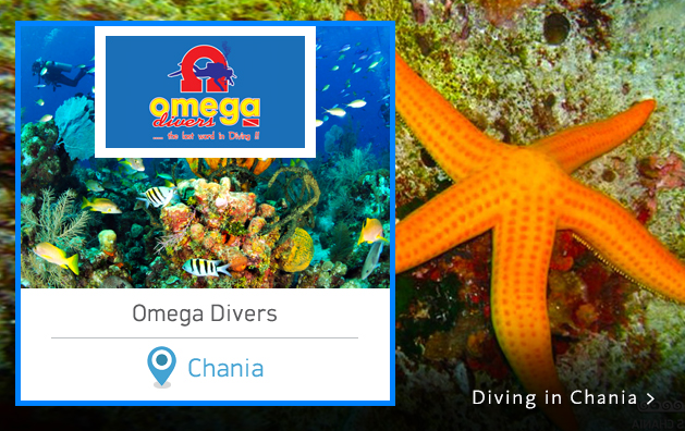 Scuba Diving in Greece. Omega Divers Chania Crete island