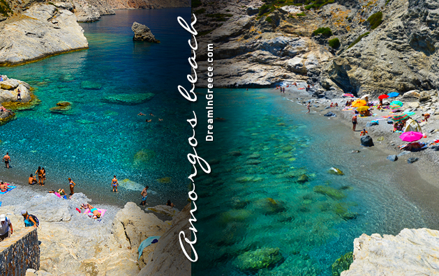 Travel Guide of Amorgos island beaches in Greece