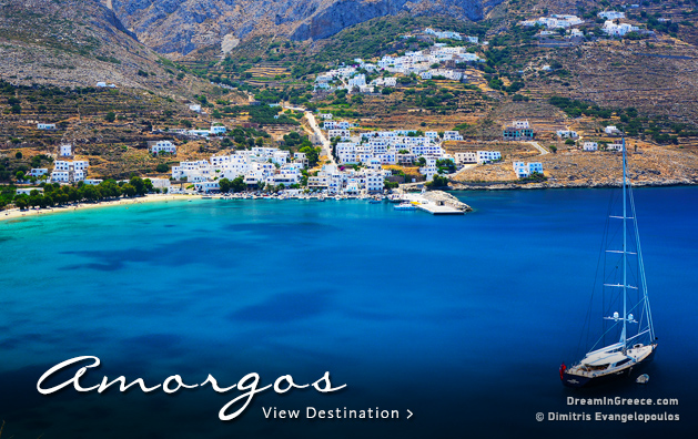 Vacations in Amorgos island Greece Travel Guide of Greece
