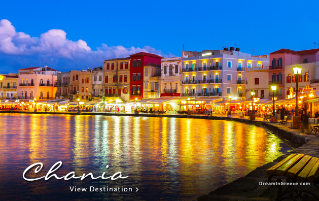 Vacations in Chania Crete island Greece Travel Guide of Greece