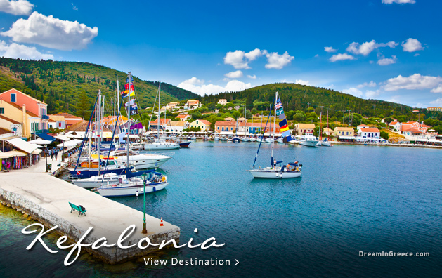 Vacations in Kefalonia island Greece Travel Guide of Greece