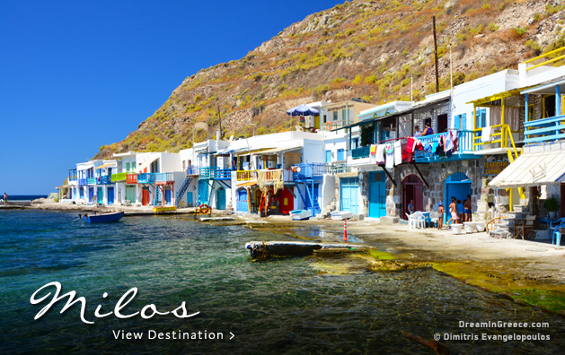 Vacations in Milos island Greece Travel Guide of Greece