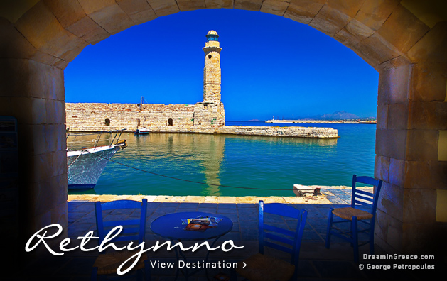 Vacations in Rethymno Crete island Greece Travel Guide of Greece