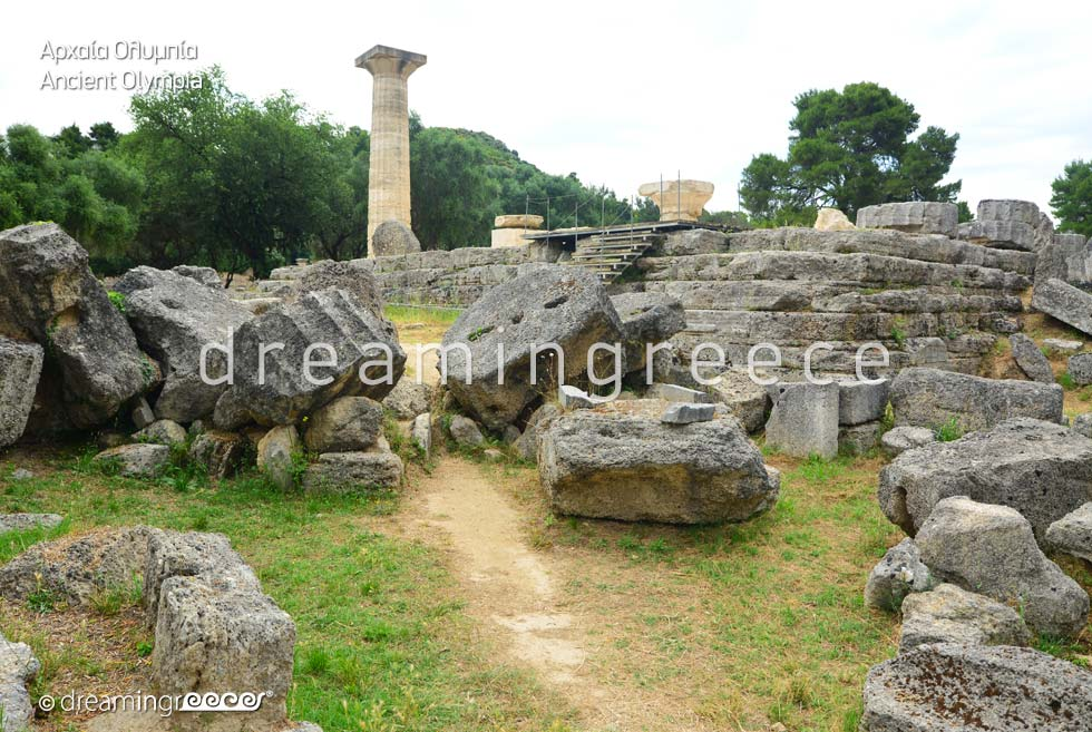 Holidays in Ancient Olympia Elis Peloponnese Greece