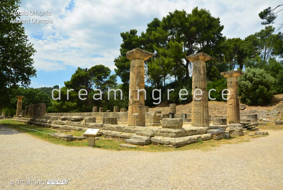 Archaeological Site of Olympia in Elis Peloponnese Greece UNESCO World Heritage Centre
