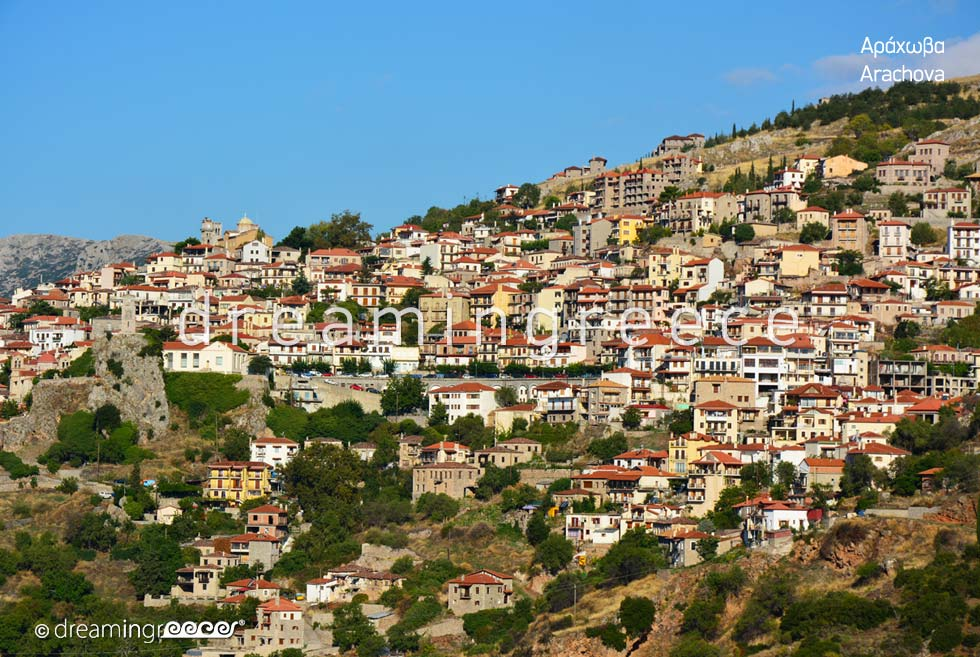 Explore Arachova Greece