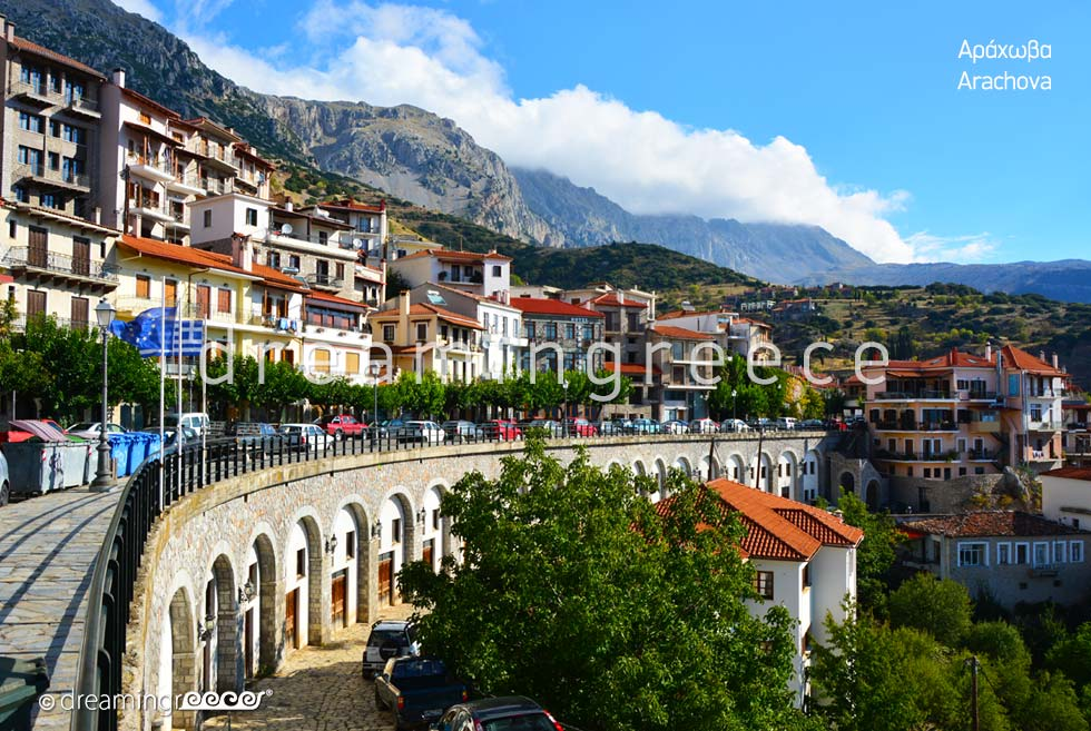 Travel Guide of Arachova Greece