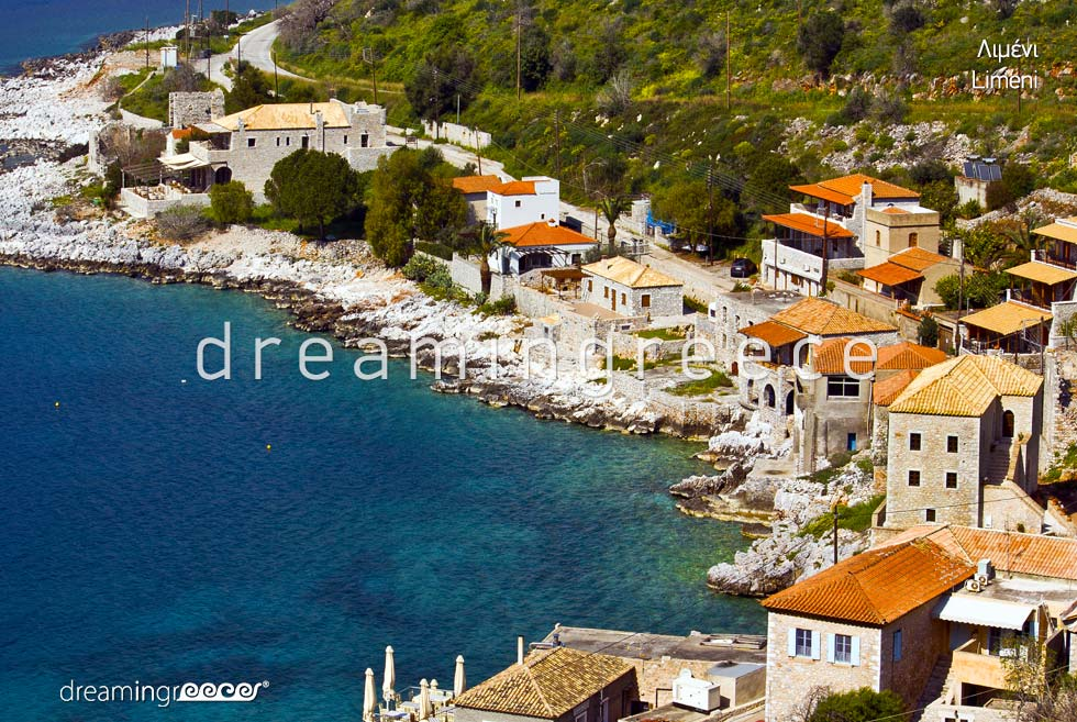 Travel Guide of Limeni Laconia Peloponnese Greece Vacations