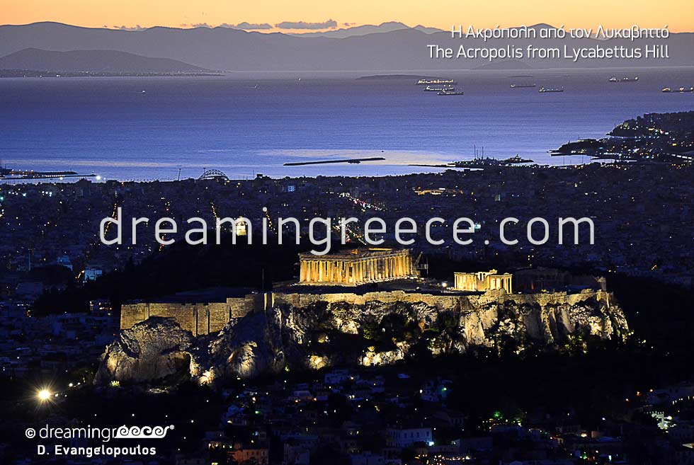 Discover Athens Acropolis Lycabettus Hill