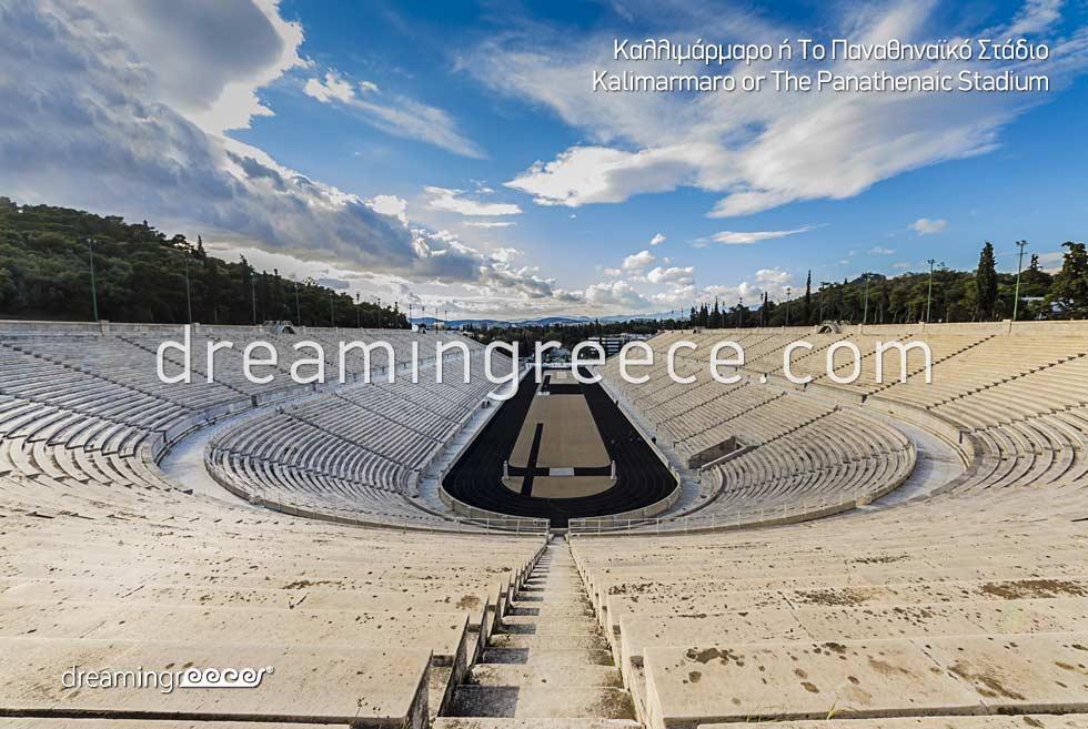 Kalimarmaro Panathenaic Stadium Athens