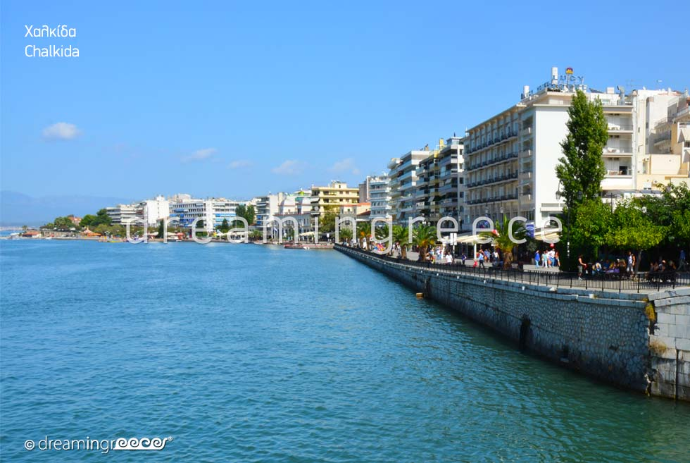 Discover Greece. Visit Chalkida. Summer Holidays.