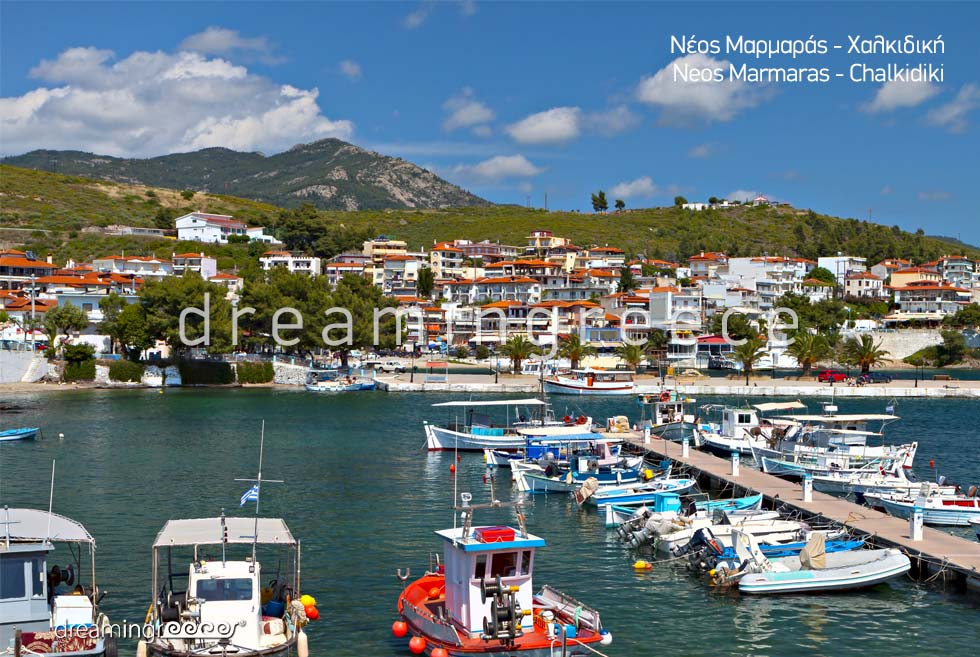 Neos Marmaras Halkidiki. Travel Guide of Greece