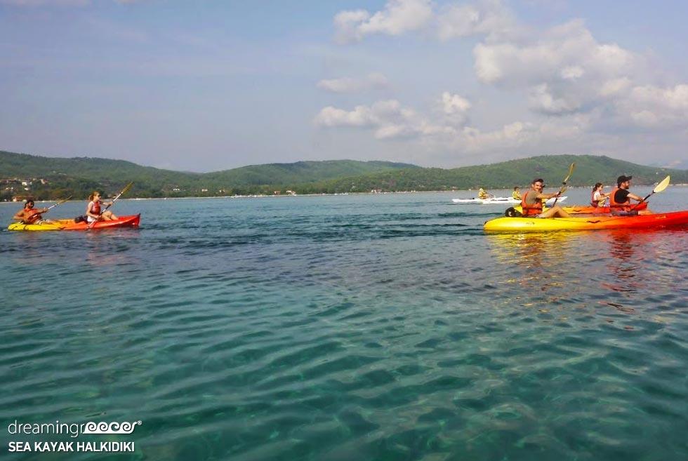 Sea Kayak Halkidiki Kayaking Chalkidiki. Visit Greece.