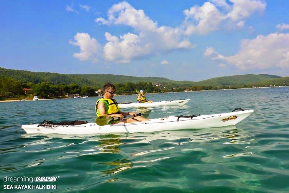 Sea Kayak Halkidiki. Vacations in Halkidiki.