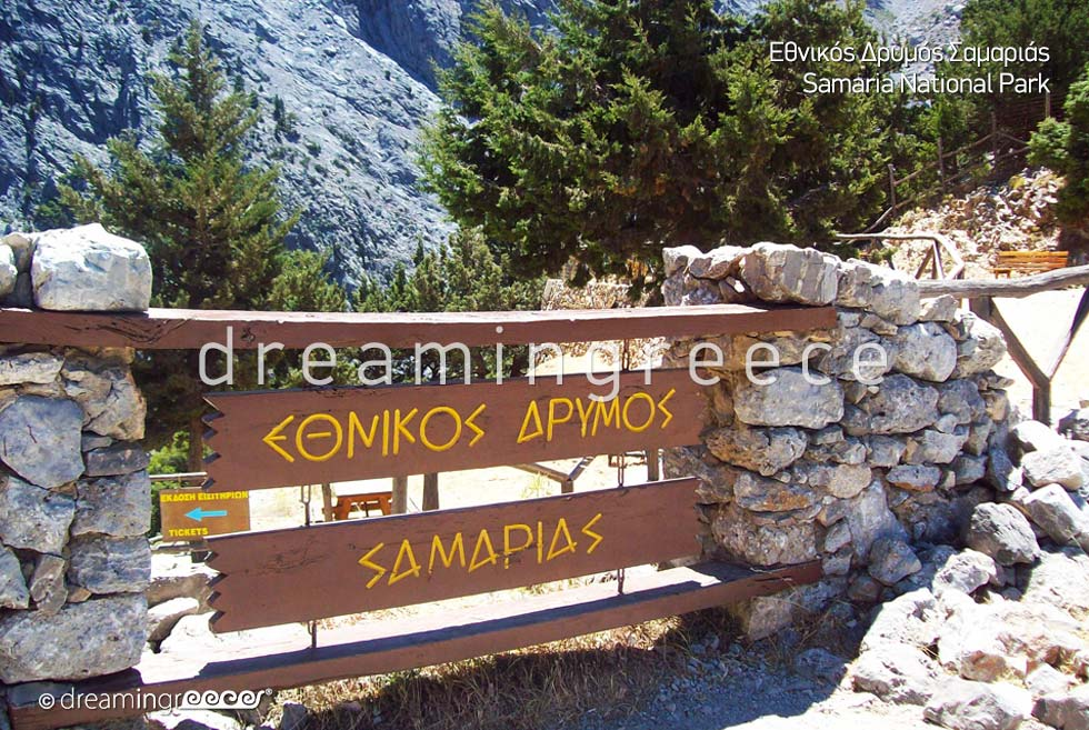 Samaria National Park Chania Crete island Visit Greece