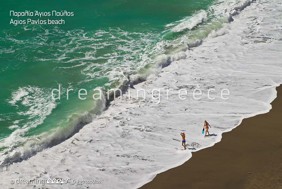 Vacations in Agios Pavlos beach in Rethymno Crete Greece