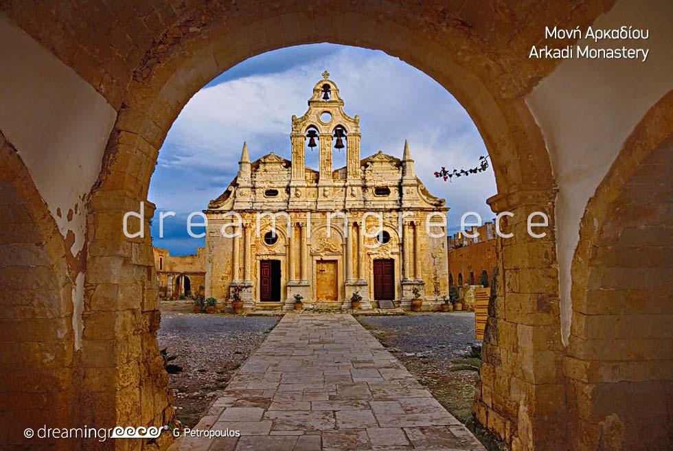 Arkadi Monastery Rethymno Crete Greece