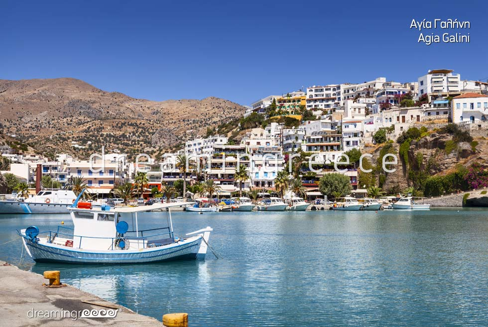 Agia Galini Rethymno Crete island Greece