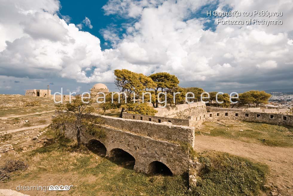Fortezza Rethymno Crete island. Discover Greece