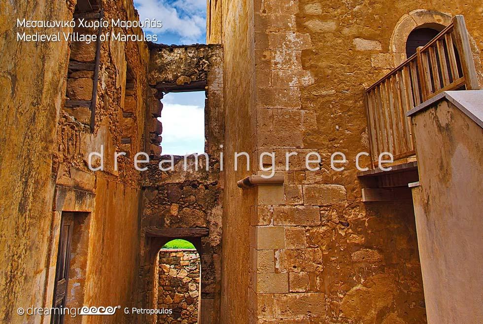 Maroulas Rethymno Crete island Greece