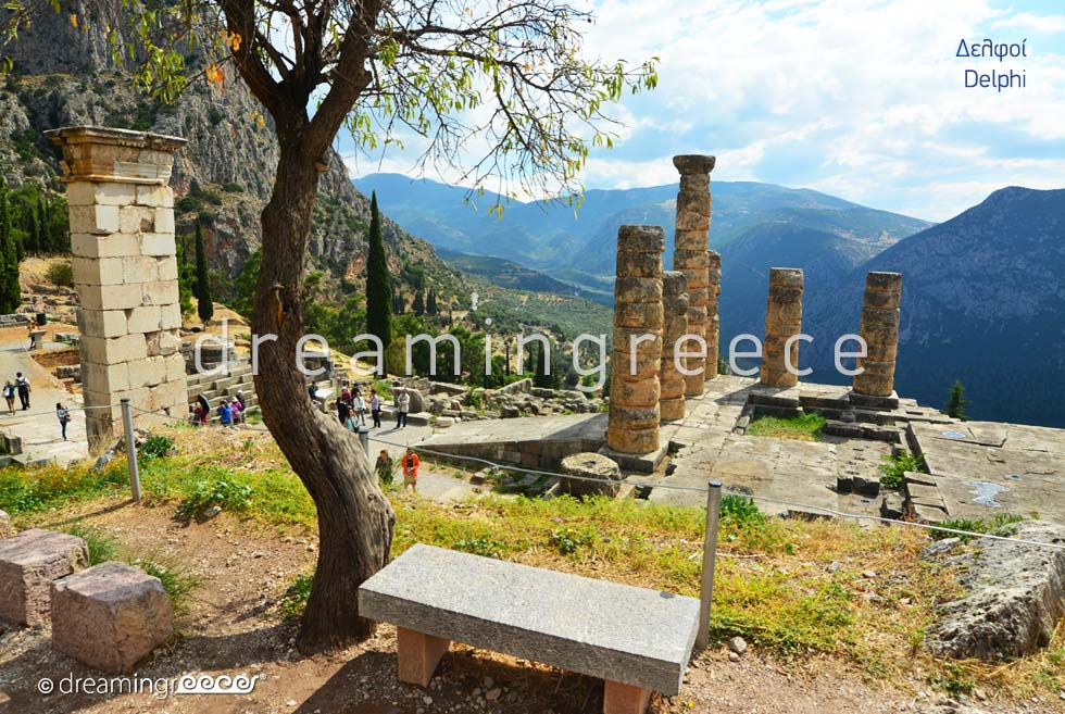 The Archaeological Site of Delphi Greece