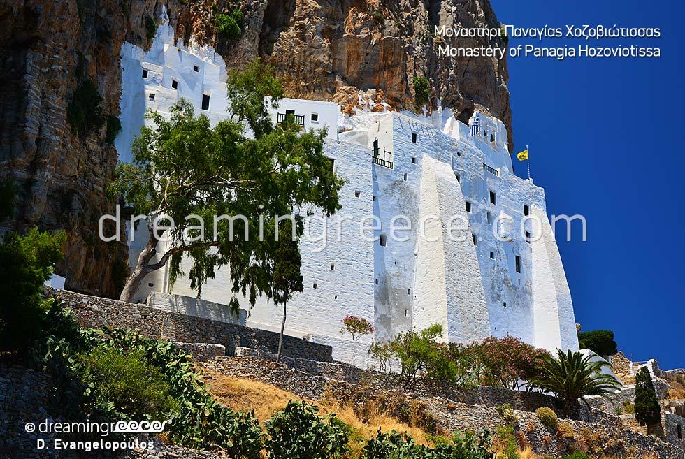Monastery Panagia Hozoviotissa Amorgos Vacations