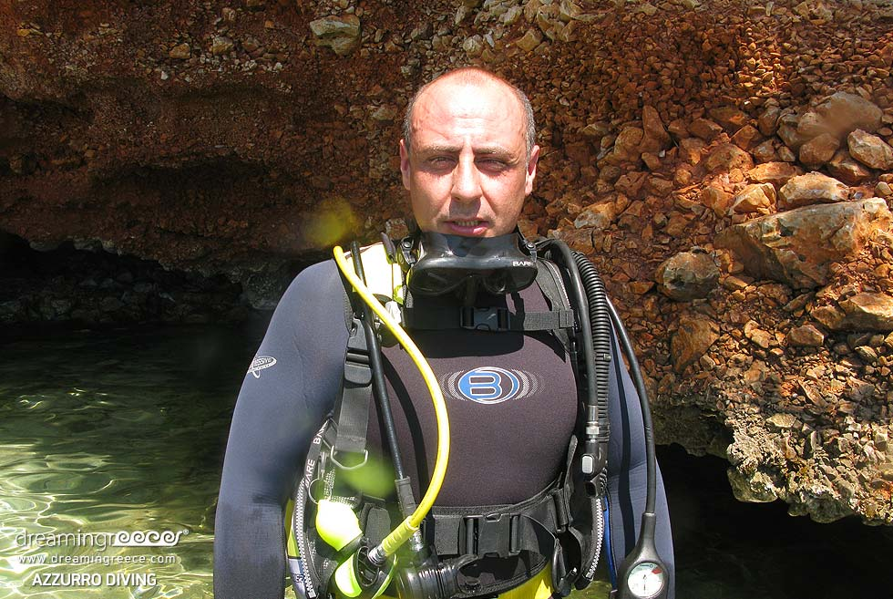 Azzurro Diving Center. Holidays in Greece.
