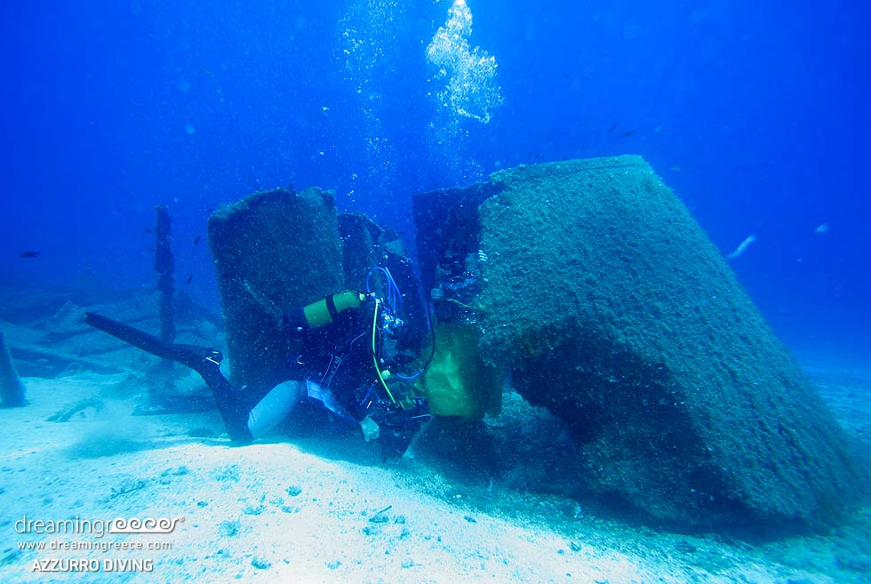Azzurro Diving Photography. Diving in Athens Greece.