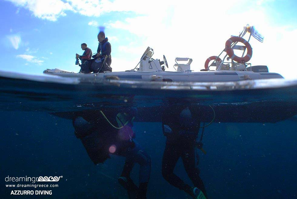 Azzurro Diving in Athens. Vacations Greece.