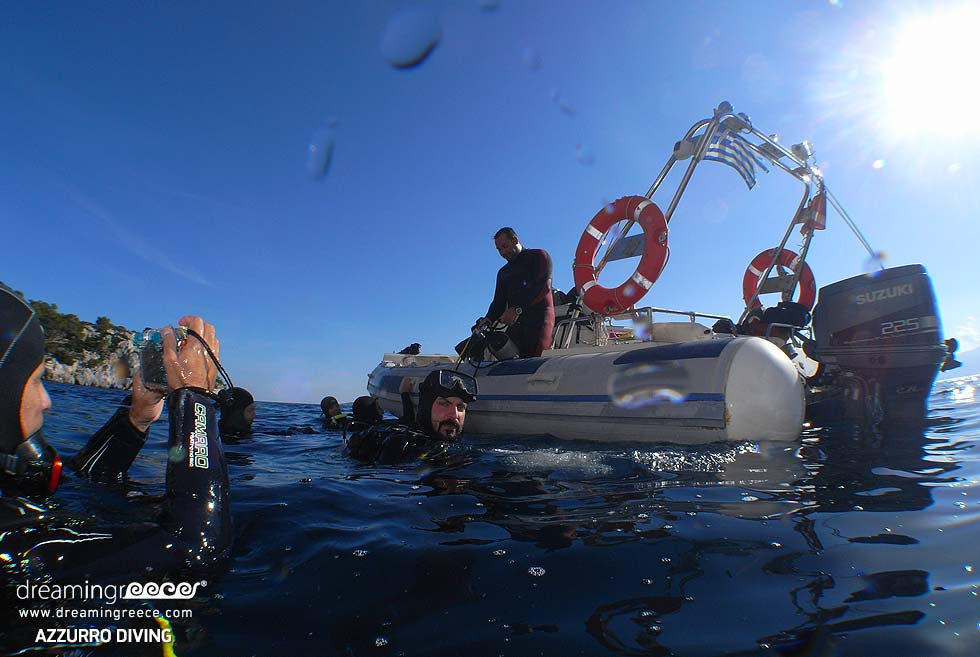 Scuba Diving in Greece. Diving in Athens Vacations.
