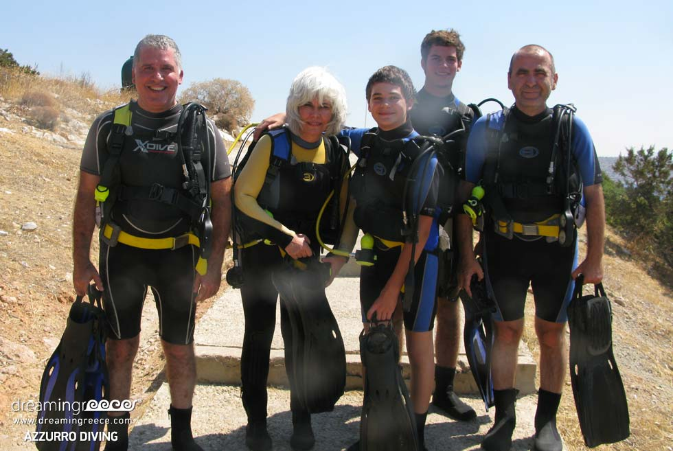 Azzurro Diving in Athens, Scuba Diving in Greece