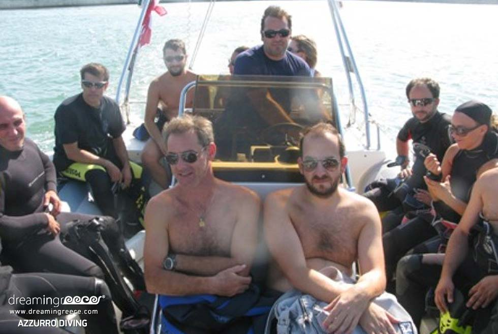 Azzurro Diving Center Group. Diving Centers Greece