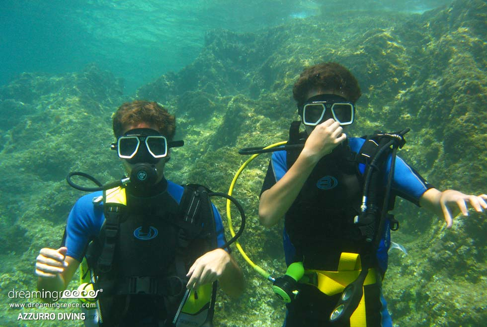 Azzurro Diving School in Athens Greece Travel