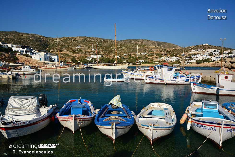Discover Donousa island Small Cyclades Greece