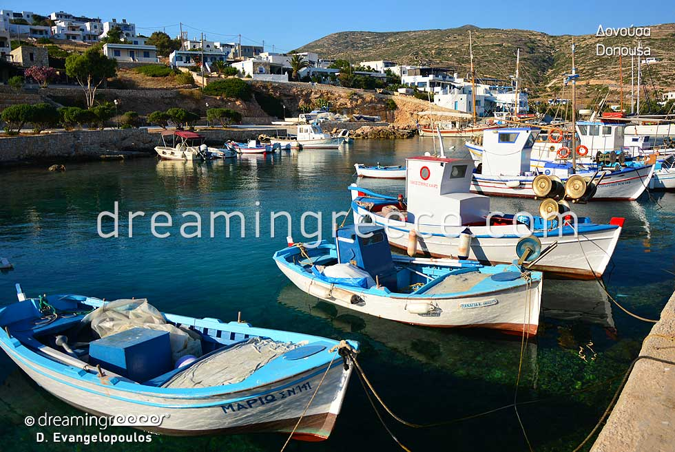 Explore Donousa island Small Cyclades Greece