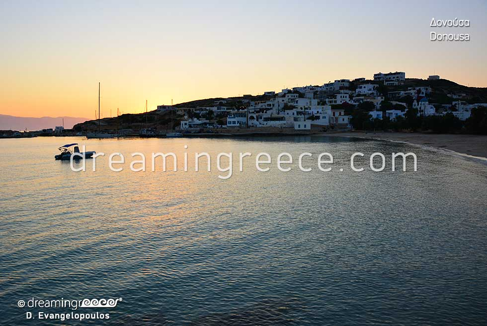 Travel Guide of Donousa island Small Cyclades Greece