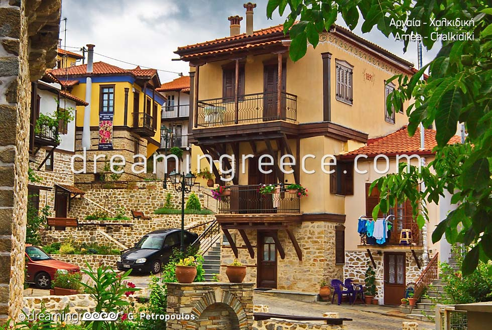 Arnea Halkidiki. Vacations in Greece.