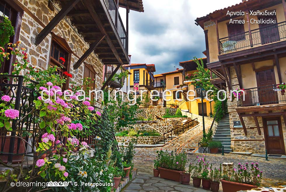 Arnea Halkidiki Greece. Holidays in Greece. Travel Greece.