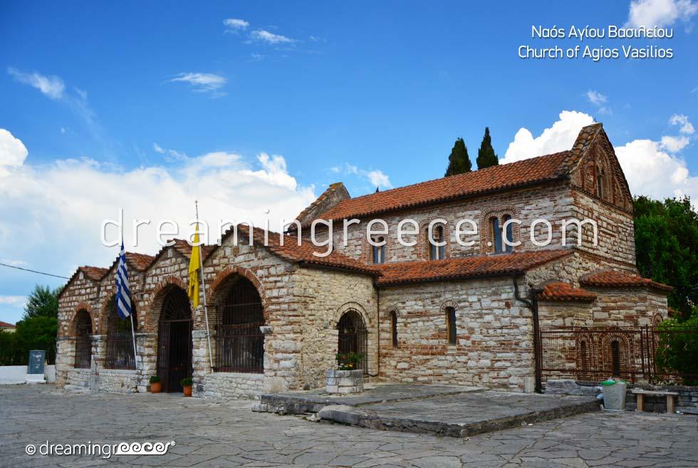 Church of Agios Vasilios Arta Epirus Greece