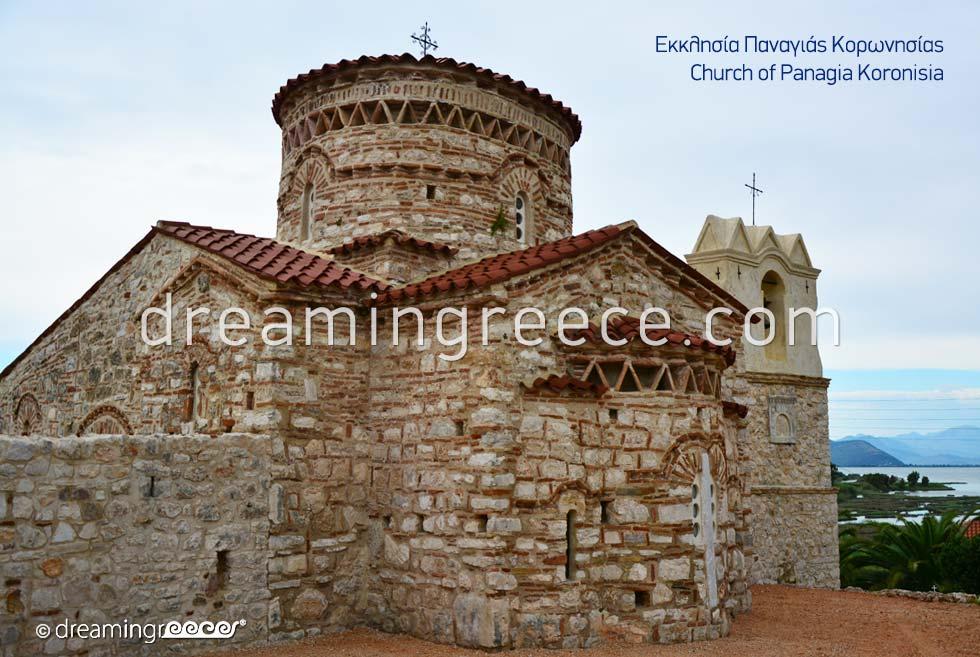 Church of Panagia Koronisia in Arta Epirus Greece