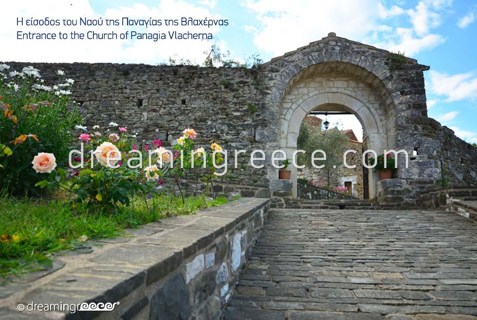 Church of Panagia Vlacherna in Arta Epirus Greece
