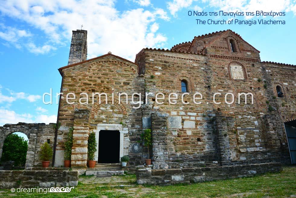 Arta Greece. Church of Panagia Vlacherna.