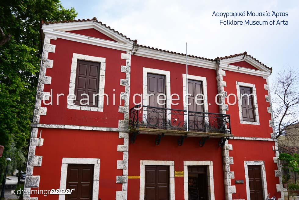 Folklore Museum of Arta. Discover Greece.