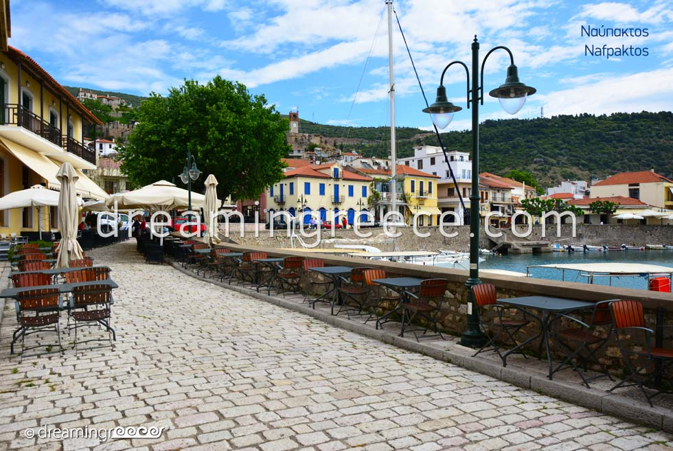 Holidays in Nafpaktos Greece. Travel Guide of Greece.