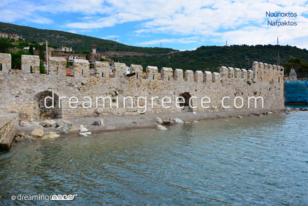 Vacations in Nafpaktos Greece. Tourist Guide of Greece.