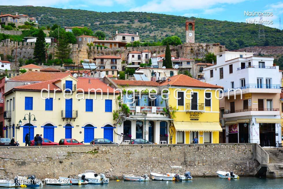 Visit Nafpaktos Greece