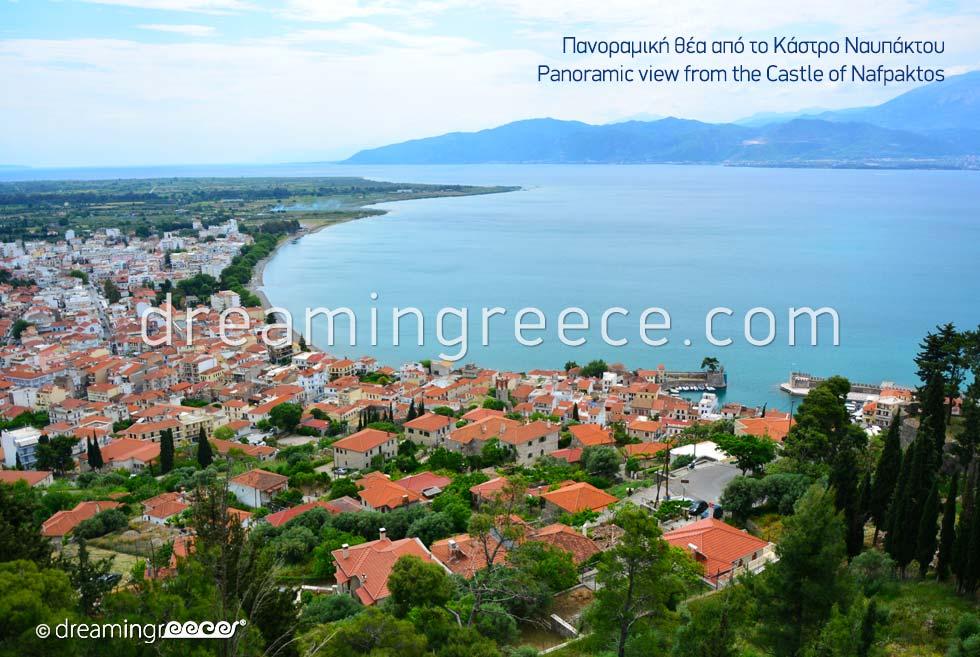 Nafpaktos Greece. Tourist Guides.